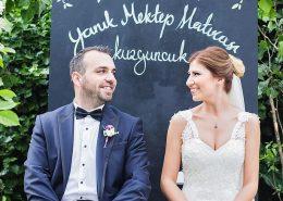 Düğün Belgeseli Fotoğrafları - Kuzguncuk yanık mektebi