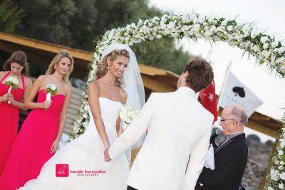 Bodrum düğün fotoğrafçısı fotoğrafları / wedding photos maça kızı
