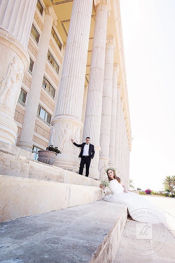 Kıbrıs Kaya artemis oteli düğün fotoğrafı