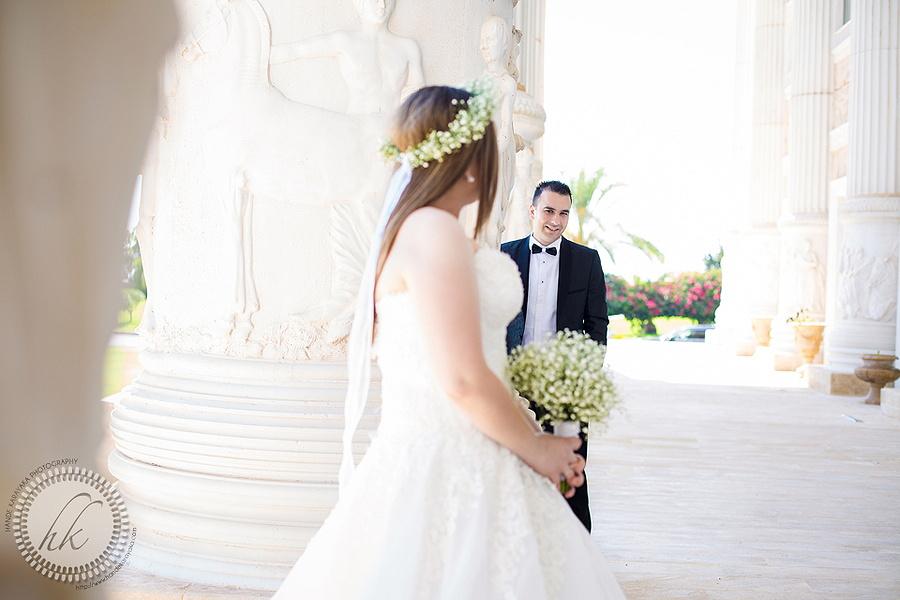 Kıbrıs Kaya Artemis otel düğün fotoğrafı