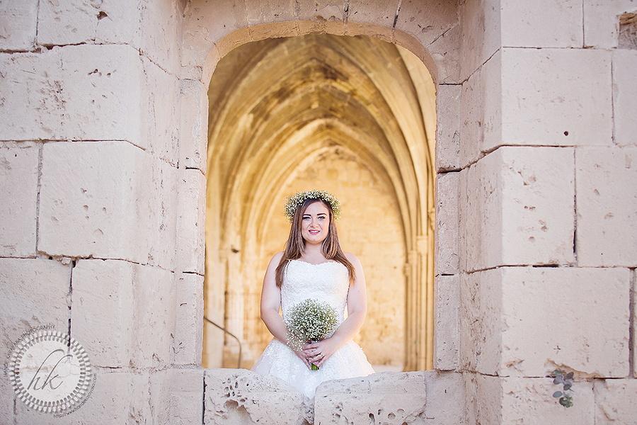 Kıbrıs bellapais düğün fotoğrafı