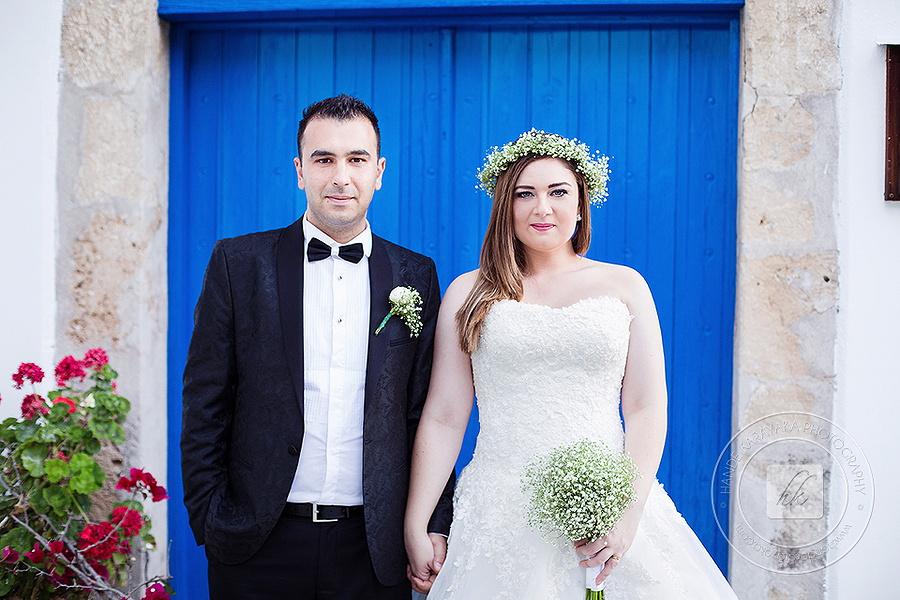 Kıbrıs karmi rum köyü düğün fotoğrafı