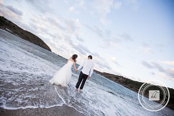 düğün fotoğrafçısından trash the dress fotoğrafları