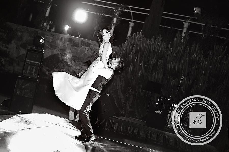 Bodrum'da düğün dansı fotoğrafları