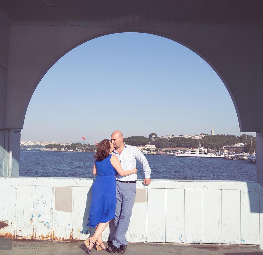 Nişan fotoğrafları Topkapı sarayı