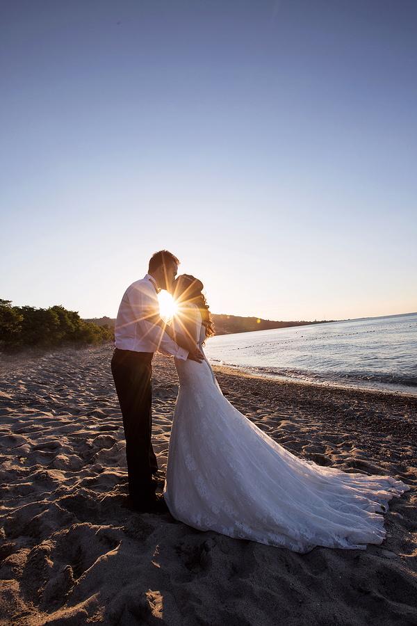 Ordu Perşembe sahillerinde düğün fotoğrafları
