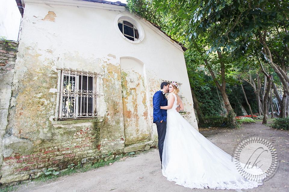 Yıldız parkı düğün fotoğraf çekimi