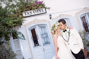 Çeşme Alaçatı düğün fotoğrafları