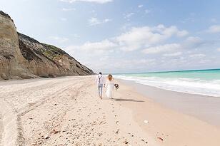 Düğün fotoğrafçısı sahil pozları - Wedding photography