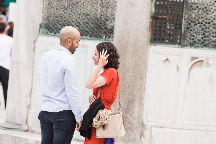 Surprise marriage proposal - Vacation photographer istanbul