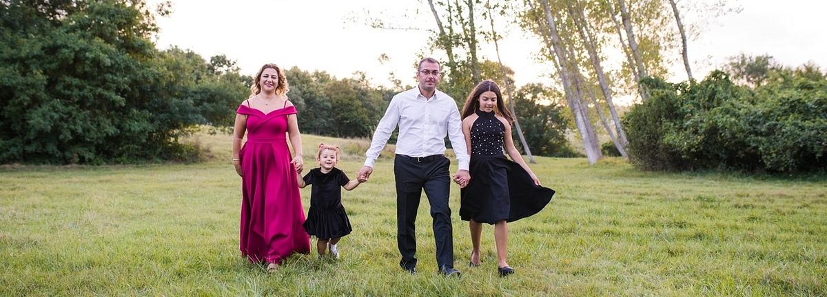Dış çekim aile fotoğrafları - Outdoor family session photos