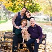 Dış mekan çekimi aile fotoğrafları - outdoors family photo shoot